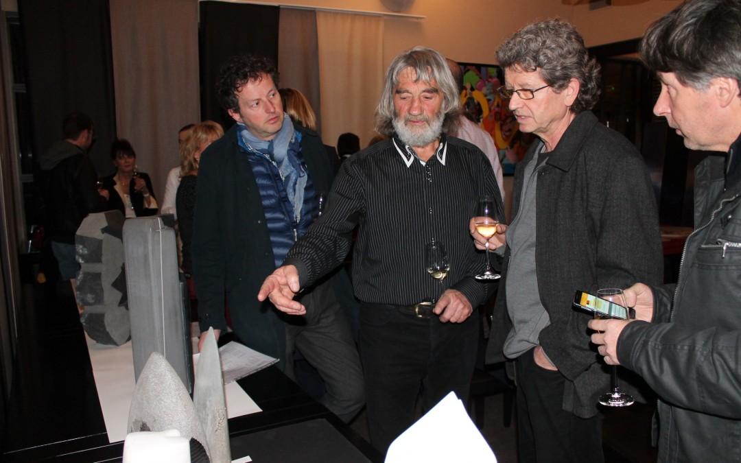 L'Art Vues magazine at Côté Mas with Yann Lièbard sculptor