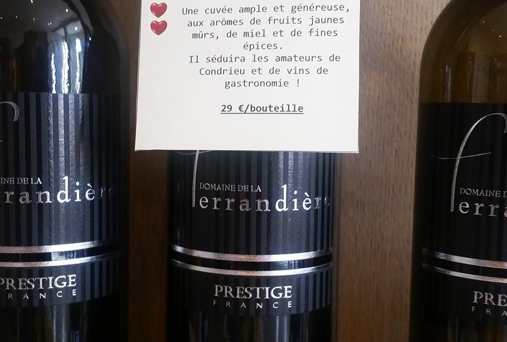 Domaine de la Ferrandière Prestige Blanc 2012 IGP Pays d'Oc