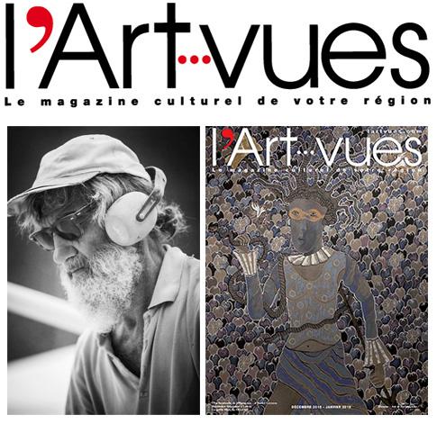 Soirée Diner Débat avec le magazine L'ART VUES invité le sculpteur Yann Lièbard