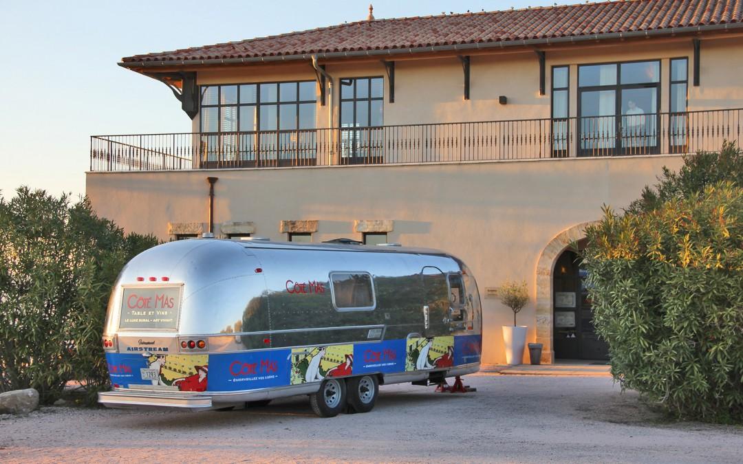 L'Airstream Côté Mas au salon Medfel à Perpignan du 26 au 28 Avril 2016