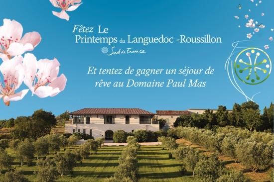 Gagnez un séjour oenotouristique à Côté Mas avec Sud de France Languedoc Roussillon