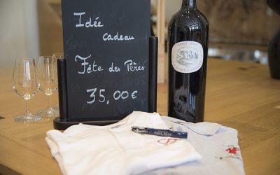 Idées Cadeaux Fête des Pères : coffret Vin polo et sommelier