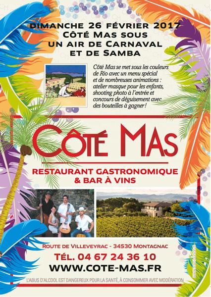 Côté Mas sous un air de Carnaval et Samba