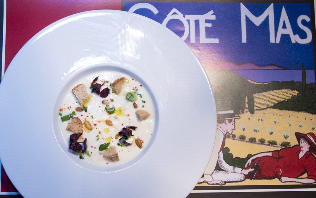 Velouté de Chou-rave au menu du Bar à Vins