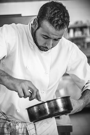 Alexandre Fontaine, notre nouveau Chef cuisinier du restaurant Côté Mas