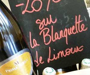 Promotion sur la blanquette de Limoux au caveau