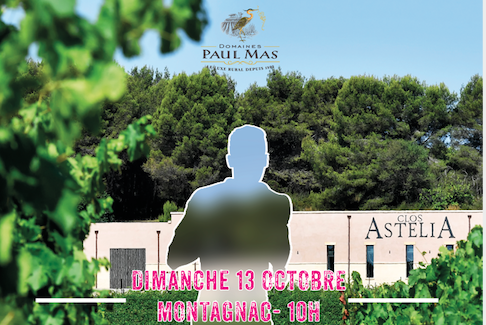 Course à pied solidaire au château Paul Mas  – 13 octobre