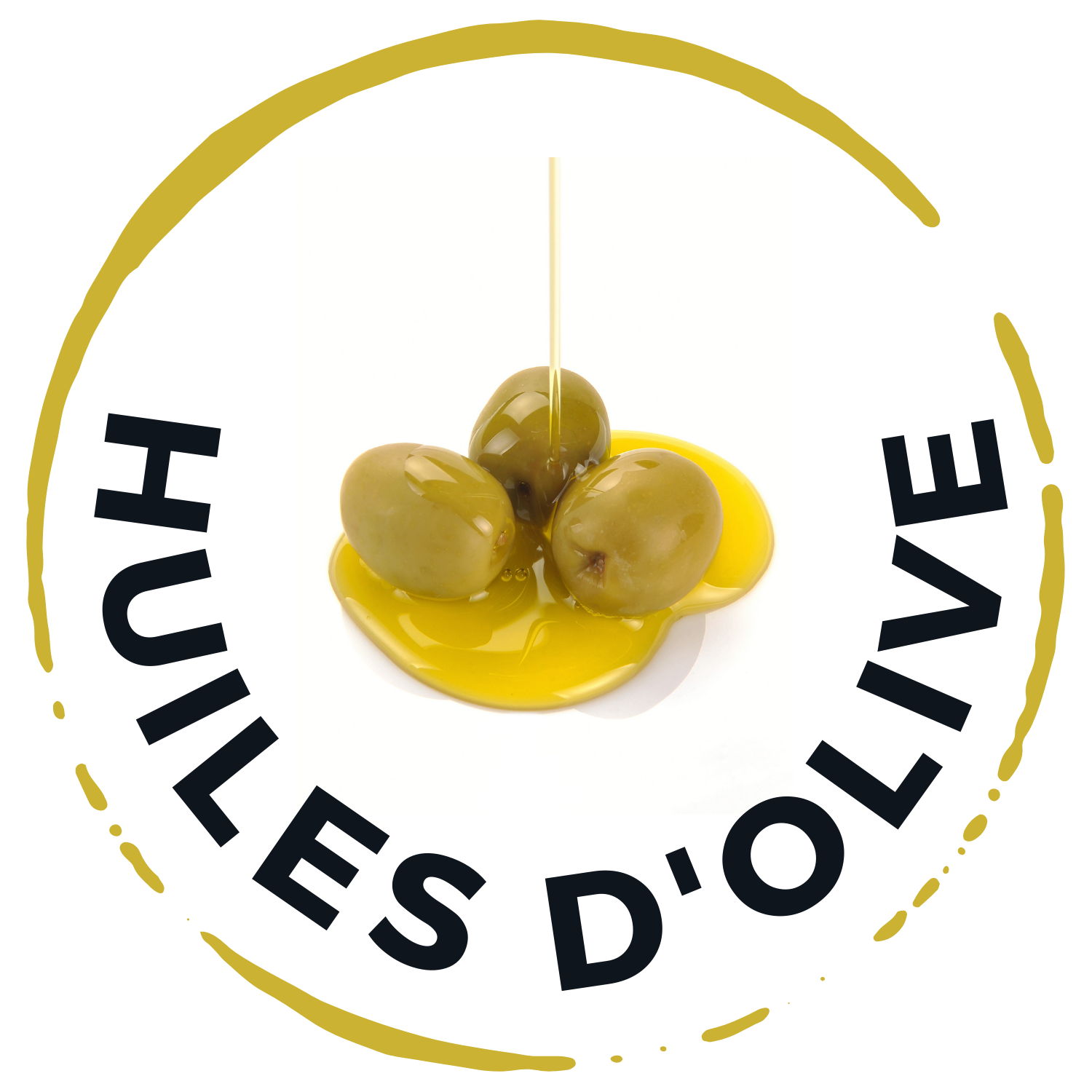 Logo huiles d'olive