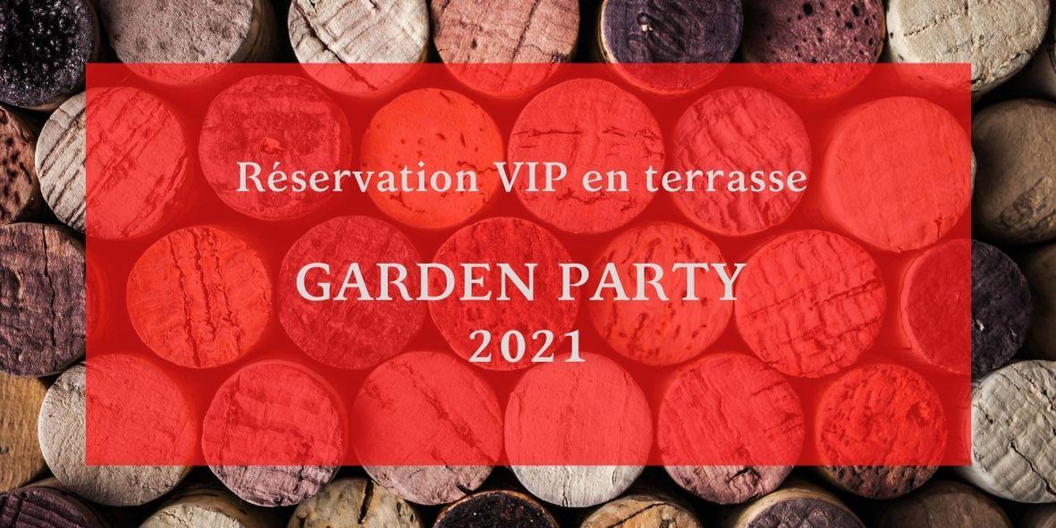 Bouton réservation Garden Party Domaine Paul Mas