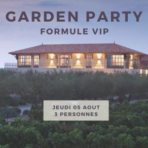 Formule VIP 3 pers