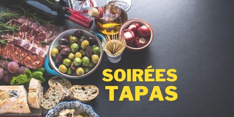 Soirée Tapas Caveau Côté Mas