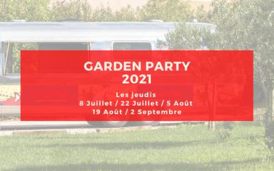 Garden Party été 2021